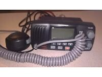 Submersible VHF Radio by Cobra. Only used twice, all leads there