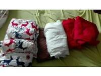 Double bed linens - 3 sets