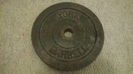 7.5kg cast iron weight plate