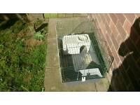 Ferplast indoor dwarf rabbit/guinea cage