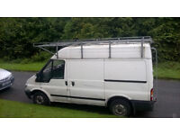 52 plate 160k miles Transit Mid, SWB, Roof Rack available separately. Needs Welding on wheelarches.