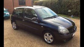2005 54 Renault Clio 1.1 3 door ltd edition new mot 3 month warranty included