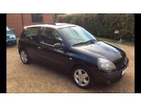 2005 54 Renault Clio 1.1 3 door ltd edition new mot 3 month warranty included