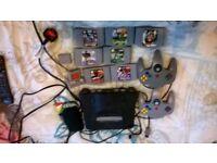 N64 working order 7 games