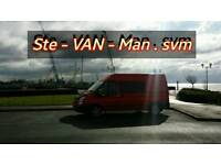 Ste-VAN-Man. Van & Driver.