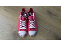BNWT Pink Sand shoes size 5