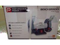 Performance Power Bench Grinder - Brand new