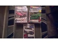 LOOK 61 FORD MAGAZINES GREAT CONDITION
