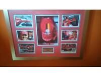 F1 Michael Schumacher 2006 signed cap certificate very good condition