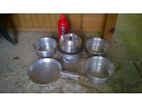 Trangia Style Camping Cooker with Burner