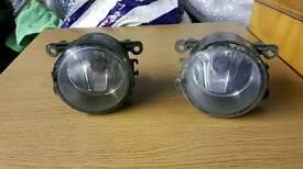 Ford fiesta st mk5 mk6 fog lamps