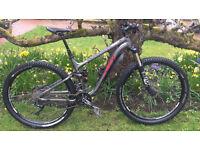 Trek Fuel EX 8 29 er Full suspension mountain trail bike 2014