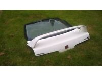 honda integra boot with spoiler,doors and side mirrors