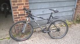Specialized Stumpy 17.5 Super lightweight Mountain Bike. Garaged, frame mint, needs 2 tyres, 1 brake