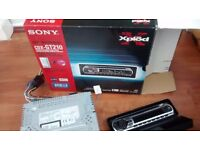 SONY CDX-GT210 car CD/MP3 player and face