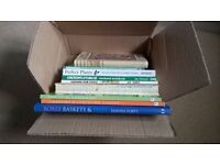 9 Gardening Books Ground Force Container Gardener Percy Thrower Boxes Baskets Pots