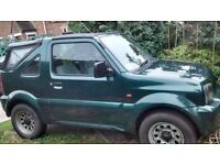 Suzuki Jimny JLX Soft Top X reg (2000)