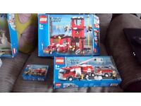 LEGO CITY FIRE STATION AND MORE