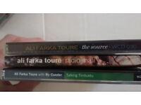 Ali Farka Toure - Talking Timbuktu/The Source/Radio Mali. CDs for sale