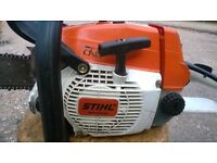 Stihl 024 petrol chainsaw.