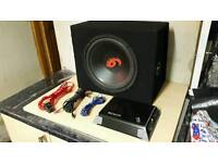 SUB & AMP FOR SALE CHEAP !!