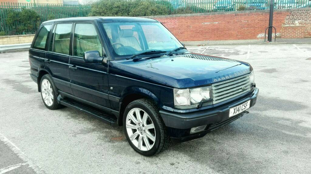 2000 range rover p38 4 6 vogue auto met blue long mot full. Black Bedroom Furniture Sets. Home Design Ideas
