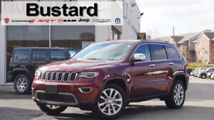 2017 Jeep Grand Cherokee LIMITED | LUXURY PKG | LED | COOLED | P