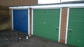 NOW LET - Lock Up Garage To Let in Hucknall NG15 6JX