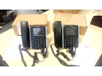 2 X Polycom VVX 400 Series Business Media Phones IN MINT CONDITION