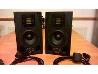 Adam A3X studio speakers, in the impeccable condition.