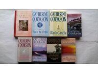 8 Catherine Cookson Books The Bonny Dawn, Blind Years, Black Candle, Wingless Bird, Mallen Streak
