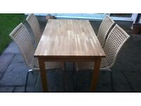 Kitchen Table and Chairs £55.00
