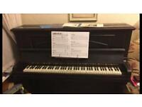 Piano- well loved well used np19 witton & witton London est 1838