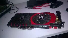 i7 games pc with MSI GeForce GTX 970 GPU 4 GB GDDR5
