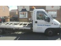 Recovery and transport service