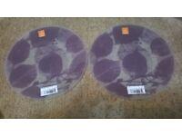 pair of Royal Doulton decorative plates
