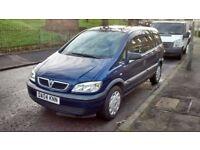 Vauxhall zafira 7 seater quick sale £450
