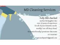 At home cleaning services