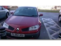 FOR SALE RENAULT MEGANE DYNAMIC 1.5 DCI £30 A YEAR TO TAX