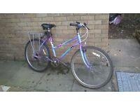 Ladies/Teenagers Bike - Raleigh Cassis - 5 speed