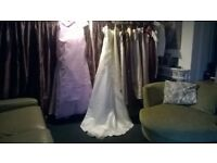 Three stunning wedding dresses,Bridesmaids dresses or prom dresses.