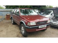 Vauxhall frontera 2.5 tds 1997 spares or repairs/export