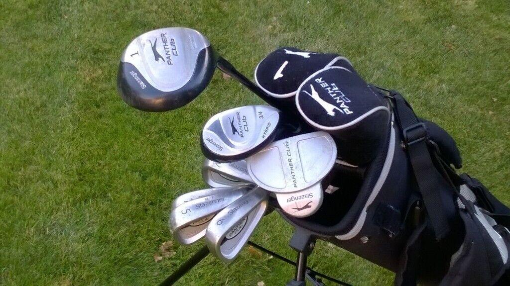 1846da0deee Slazenger Panther Junior Golf Set with additional Clubs, Bag & Head Covers
