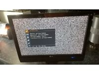lg flatron Small wide hd tv monitor.