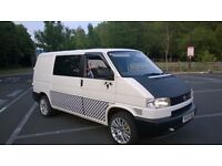 VW T4 1.9 TD, 160k mls, rock & roll bed, new clutch, brakes, alloys, top end engine rebuild