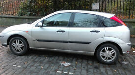 2004 (04) Ford Focus, 1.6 petrol, 5-door.