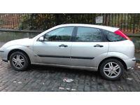 2004 (04) Ford Focus, 1.6 petrol, 5-door.