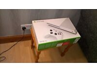 X box one for sale. Brand new. Still in box.