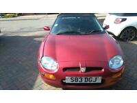 MG TF 1.8 SPARES OR REPAIR