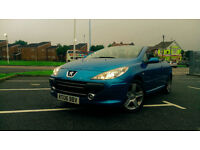 Peugeot 307 CC 2006 YEAR !! !! !! !! 177 KM !! !! !! 74k miles !! !! !! THE SUMMER IS COMING!! !! !!